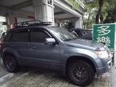 Suzuki車系安裝範例:Suzuki-JP原廠車頂架+台製加長行李盤(Buzzrack).—