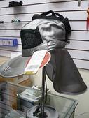 露營裝備:銀網纖維抗UV收納式遮陽帽(半圓盤)-獨木舟船釣特適版