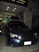 Subaru車系安裝範例:Subaru-Forester車頂架(Thule-757)+400l亮黑雙開行李箱(Thule-Touring 200 BK)