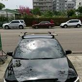 Toyota車系安裝範例:Toyota Camry車頂架(Whidpbar Throughbar).