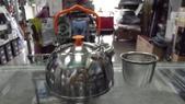 露營裝備:BRS不銹鋼野營茶壺/0.6L