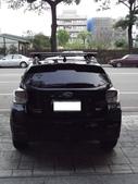 Subaru車系安裝範例:Subaru-XV黑色版本車頂架(Thule-753)