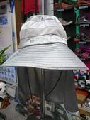 露營裝備:銀網纖維抗UV收納式遮陽帽(圓盤)-獨木舟船釣特適版