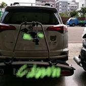 Toyota車系安裝範例:Toyota Rav 4拖車式攜車架*3台份(Thule G6).