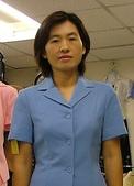 個人照集錦:試穿婦女會制服--藍色