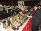 校園寫真集:990106班際聯誼餐會自助餐菜色豐富