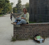 2011年10月義大利16日遊:街頭藝人