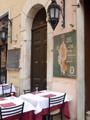 2011年10月義大利16日遊:好想坐下的餐聽 (3).JPG