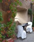 2011年10月義大利16日遊:好想坐下的餐聽 (4).JPG