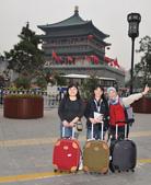 201210月西安及北京16日:10/6西安火車站前鼓樓