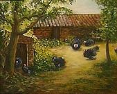 2009 年painting exhibition 西畫社聯展:徐湘綾_老屋及火雞10F9803A.jpg