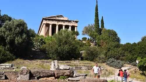 雅典30-阿哥拉古市集.JPG - 雅典Athens