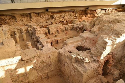 雅典11-羅馬浴室.JPG - 雅典Athens