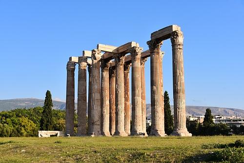 雅典13-奧林匹克宙斯神殿.JPG - 雅典Athens