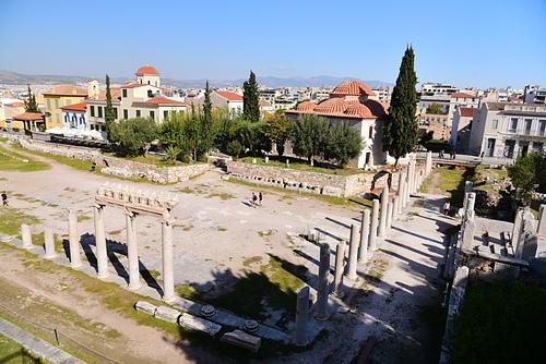 雅典16-古羅馬市集.JPG - 雅典Athens