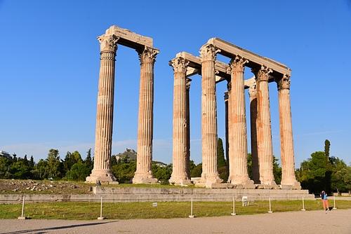 雅典12-奧林匹克宙斯神殿.JPG - 雅典Athens