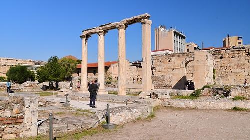 雅典23-哈德良圖書館.JPG - 雅典Athens