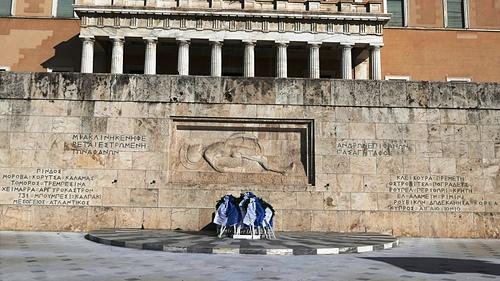 雅典5-無名戰士碑.JPG - 雅典Athens