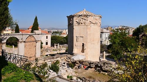 雅典17-古羅馬市集-風之塔.JPG - 雅典Athens