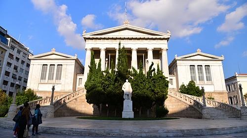 雅典36-希臘國家圖書館.JPG - 雅典Athens