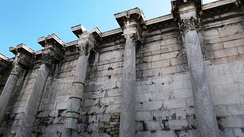 雅典21-哈德良圖書館.JPG - 雅典Athens