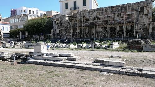 雅典24-哈德良圖書館.JPG - 雅典Athens
