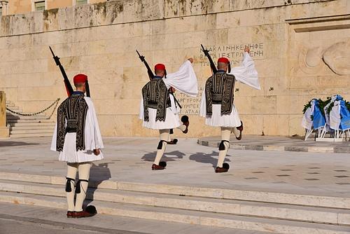 雅典8-無名戰士碑.JPG - 雅典Athens