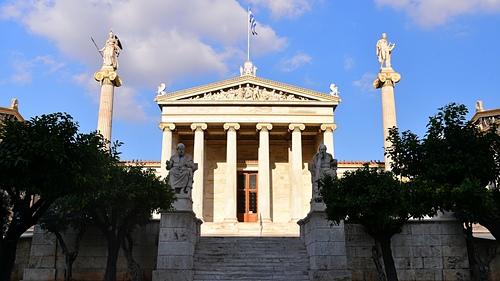 雅典39-雅典科學院.JPG - 雅典Athens