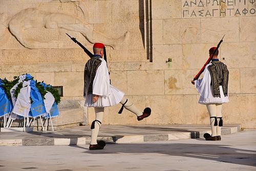雅典9-無名戰士碑.JPG - 雅典Athens