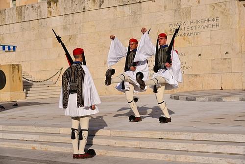 雅典10-無名戰士碑.JPG - 雅典Athens