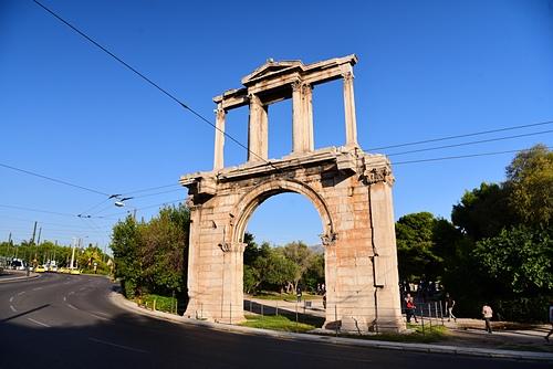 雅典14-哈德良拱門.JPG - 雅典Athens