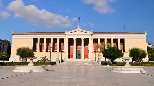 雅典37-雅典大學.JPG - 雅典Athens