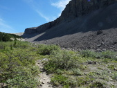 絕境之旅:向 Michelle lakes 方向的路徑