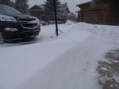 暴風雪:雪牆