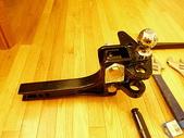 漂泊的木屋:hitch bar / ball mount / ball 組合