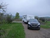 漂泊的木屋:chain lakes campground B-47有湖景