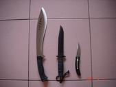 荒人的歲月:長刀短刀與折刀