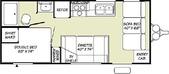 漂泊的木屋:Floor Plan of Pioneer Spirit 18CK