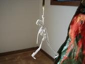 雲霄飛車:Emily做的骷髏