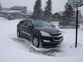 暴風雪:風雪中的Traverse