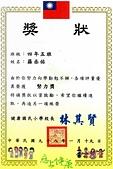 獎狀:2008年羅丞佑健康國小四年級努力獎