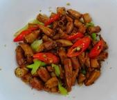炒鹹小卷食譜: