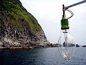 20080713 基隆嶼 登山:回程 -> 碧沙漁港, 船長會再載大家環島一圈.