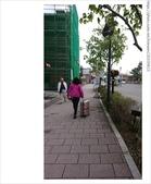 北海道~前往函館機場:拖著行李前往車站