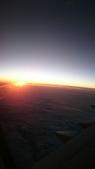寂寞帶我去散步:空中看夕陽