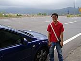 200509大風大雨金山洋荳子咖啡:018寶爺車車照相