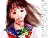 水彩畫...:%5BWallcoo_com%5D_Haruhiko%20Mikimoto_innocence_the%20front%20cover_2.jpg
