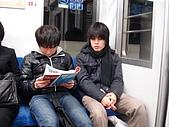 長野‧090116‧北志賀滑雪旅行:ユウスケ和イワザキ