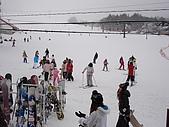 長野‧090116‧北志賀滑雪旅行:人好多!!!