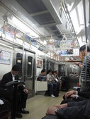 東京‧2011春:久しぶりの電車!